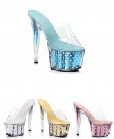 7fc6cbc3405d 7 Inch Heels Stripper Shoes High Heels Platforms Stiletto Sandals