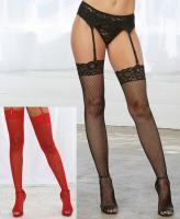 0006 Dreamgirl Fishnet Thigh High