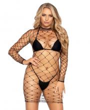 86968 Leg Avenue Fence net dress