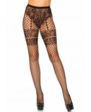 9281 Leg Avenue Lace Industrial Net tights